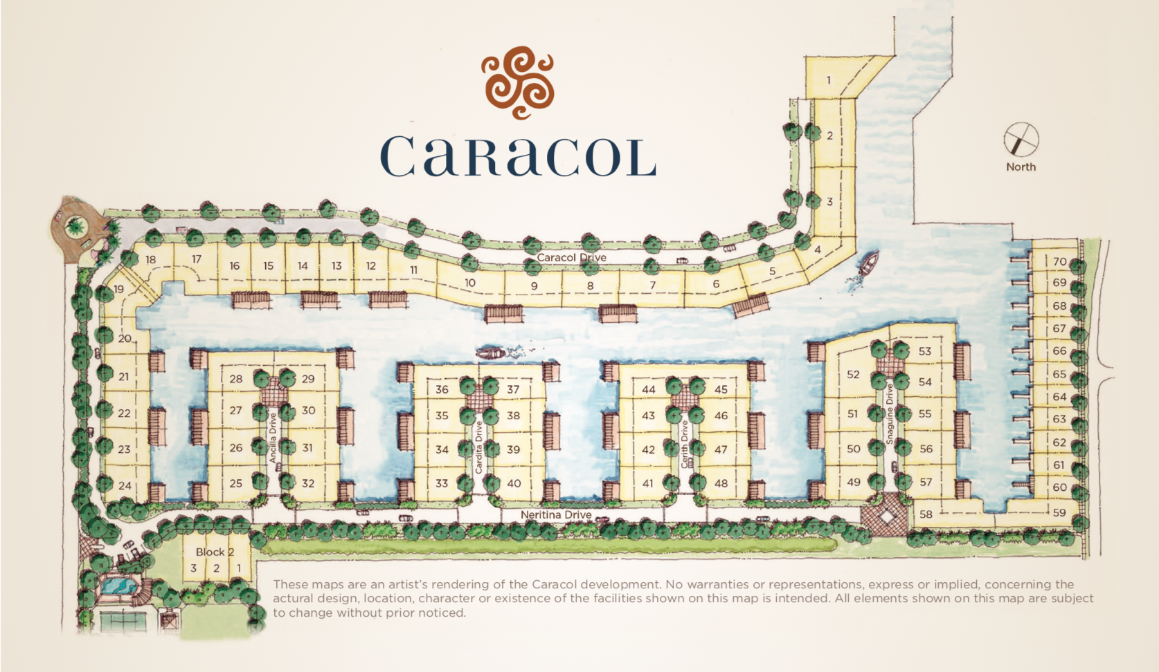 Caracol Site Plan